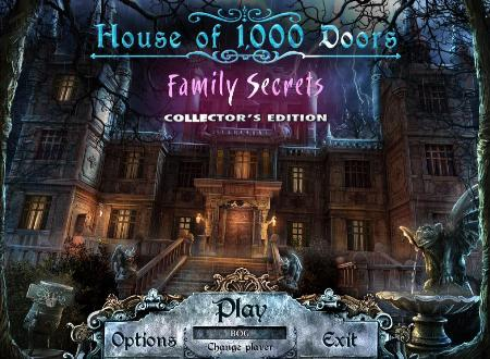 House of 1000 Doors: Family Secrets Collector's Edition Main Menu