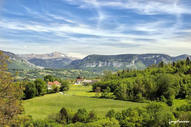 Chemins de l'Albanais,Haute-Savoie, Rhone-Alpes
