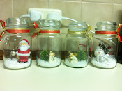 My last four jars of Christmas