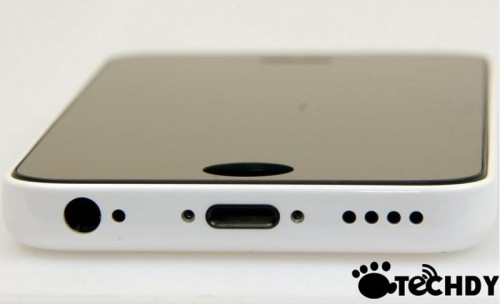 L'immagine della scocca laterale del nuovo iPhone a basso costo di Apple?