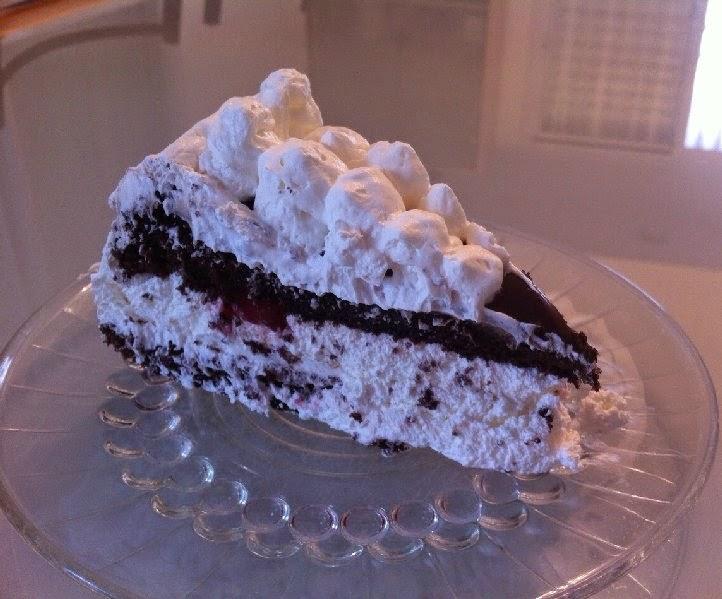 עוגת היער השחור חגיגית במיוחד