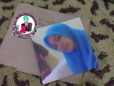 hadiah dari blogger, fridget magnet photo