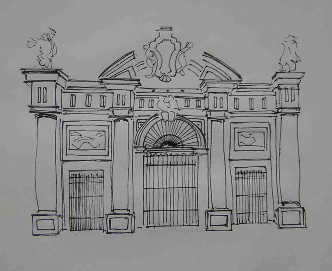 Roman Architecture Drawing unique roman architecture drawing of classical greek and tuscan