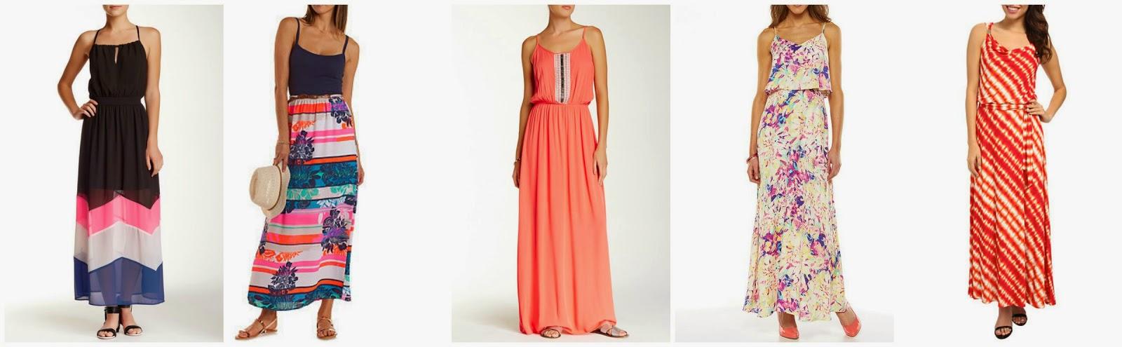 Wear It For Less: MYLEENE KLASS: FLORAL MAXI