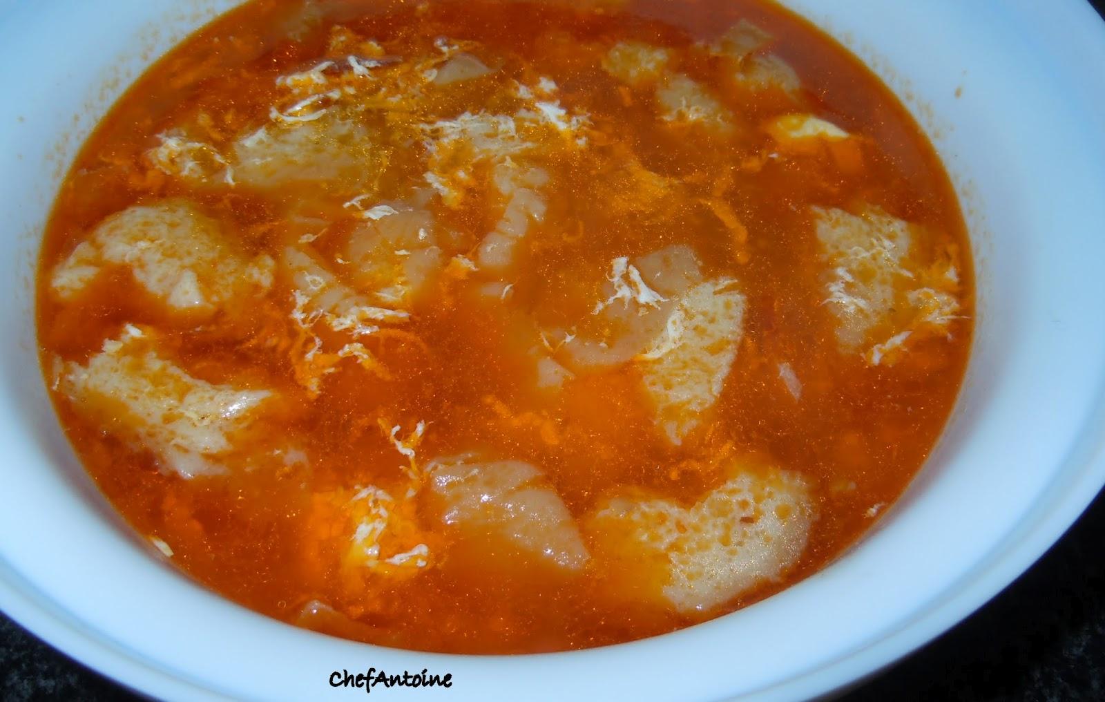 Chefantoine sopas de ajo sopa castellana - Sopa castellana casera ...