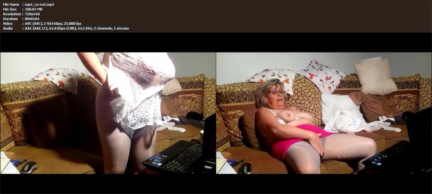 Old Pantyhose Webcam