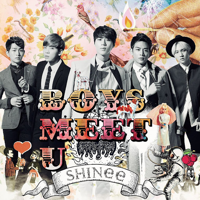 Boys meet u shinee album art