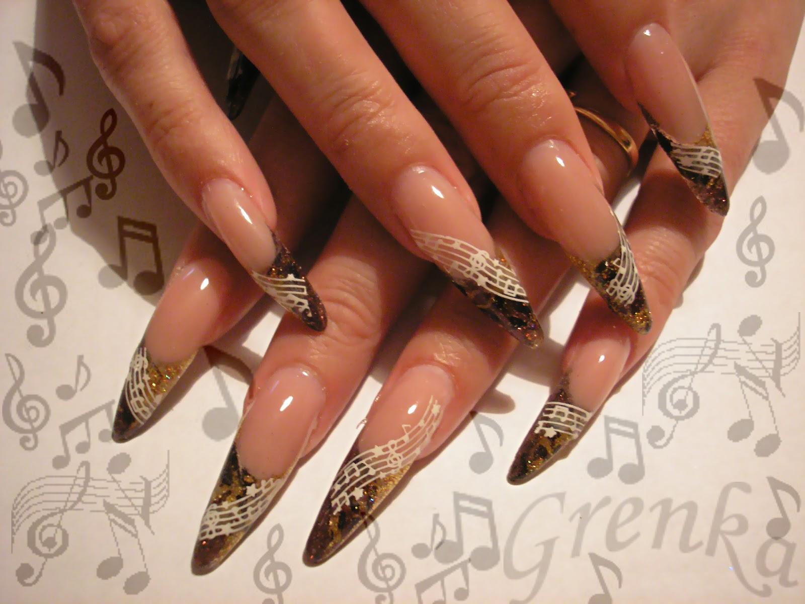 Nail Art Designs Acrylic Nail 2012 Acrylic Nailtop 11 Jpg