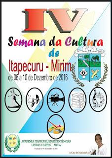 SEMANA DA CULTURA DE ITAPECURU-MIRIM/MA
