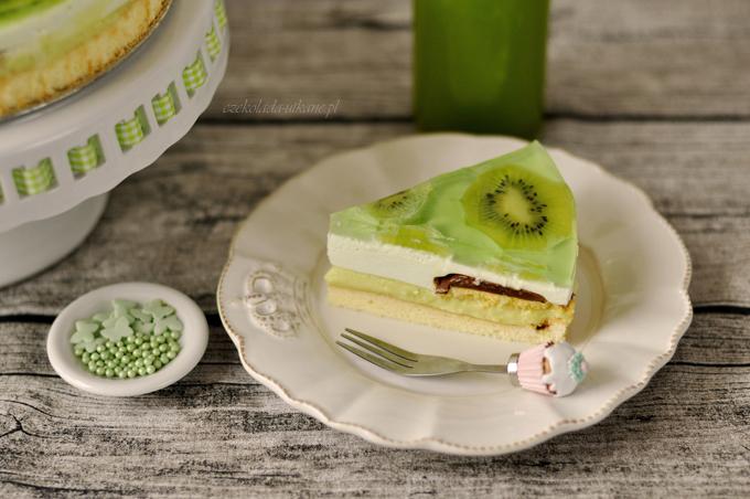 ciasto, shrek, zielone, przepis, na imprezę, na urodziny