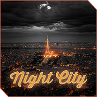 XPERIA™ Theme NightCity for Android