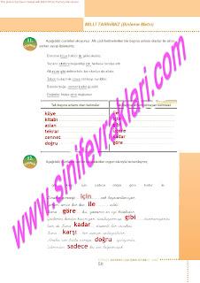 6.Sinif  Turkce Doku Yayinlari Ogrenci Calisma Kitabi Sayfa 59