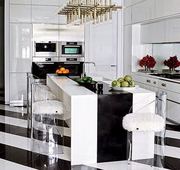 Lush Fab Glam Blogazine: Stunning Black & White Home Decor