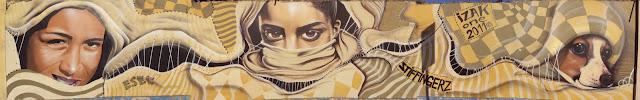 graffiti de izak y esec, antofagasta, chile