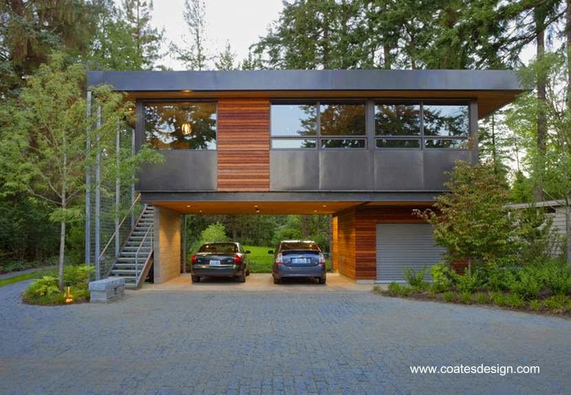 Casas modernas de estilos contempor neos paperblog for Casas modernas en washington