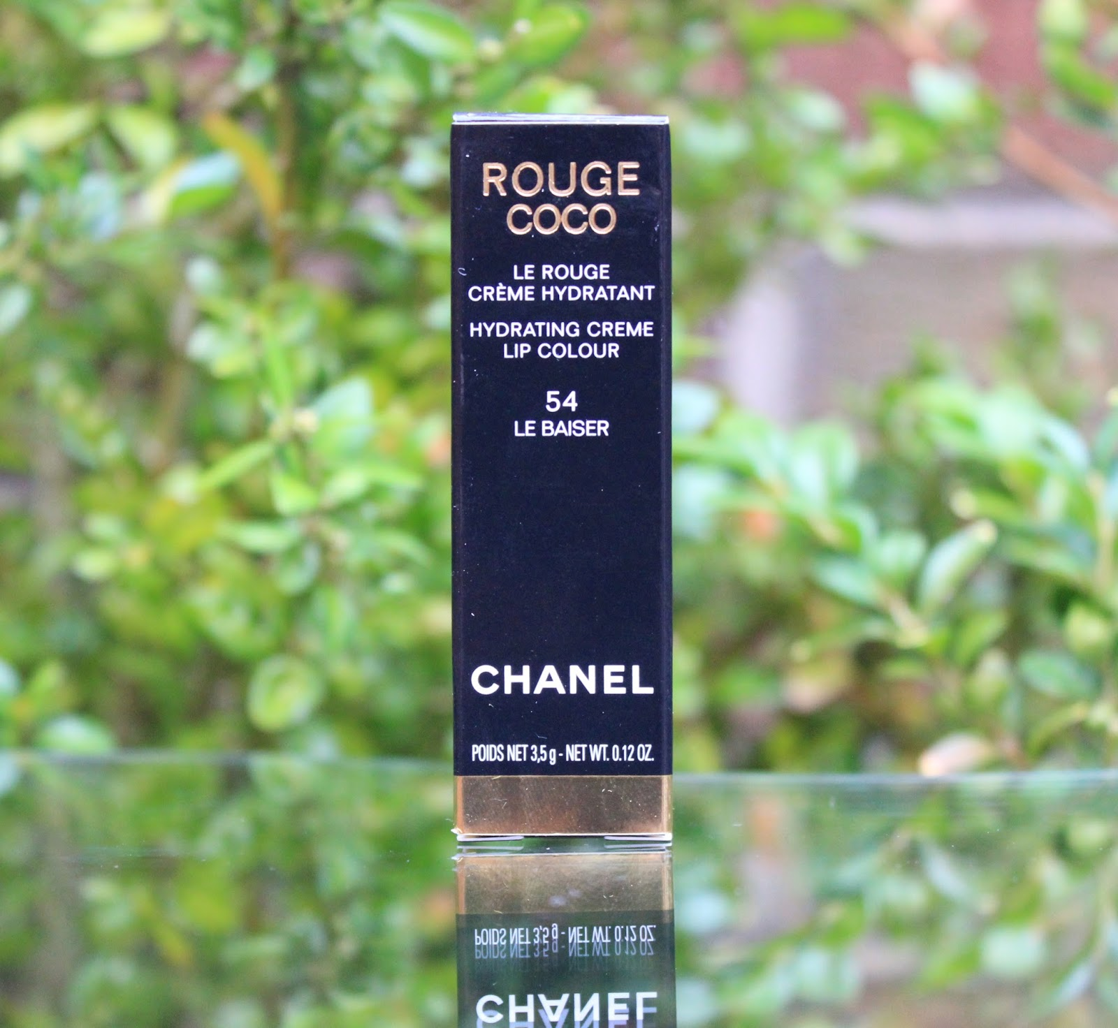 Review chanel rouge coco lipstick le baiser 54 through for Chanel collection miroir 4179
