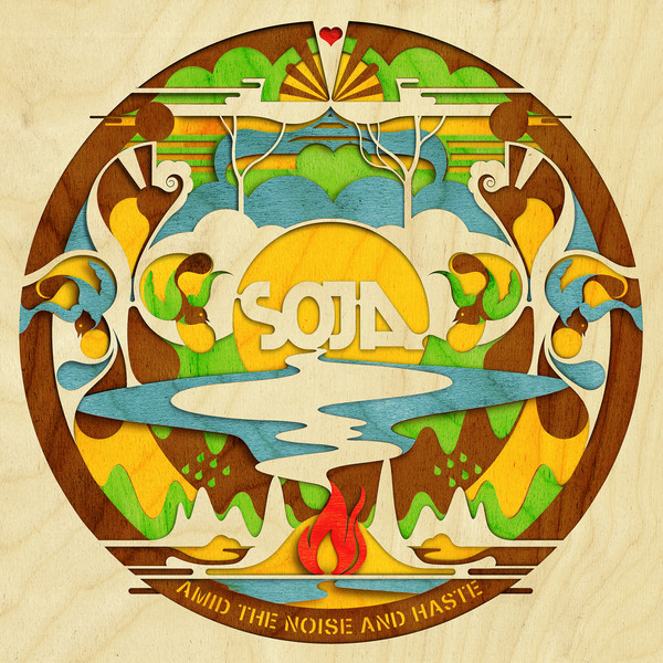 SOJA - Amid the Noise and Haste Cover