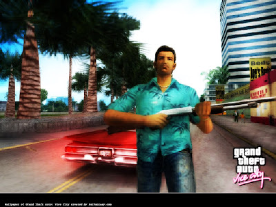 The Grand theft Auto Vice City Video Game