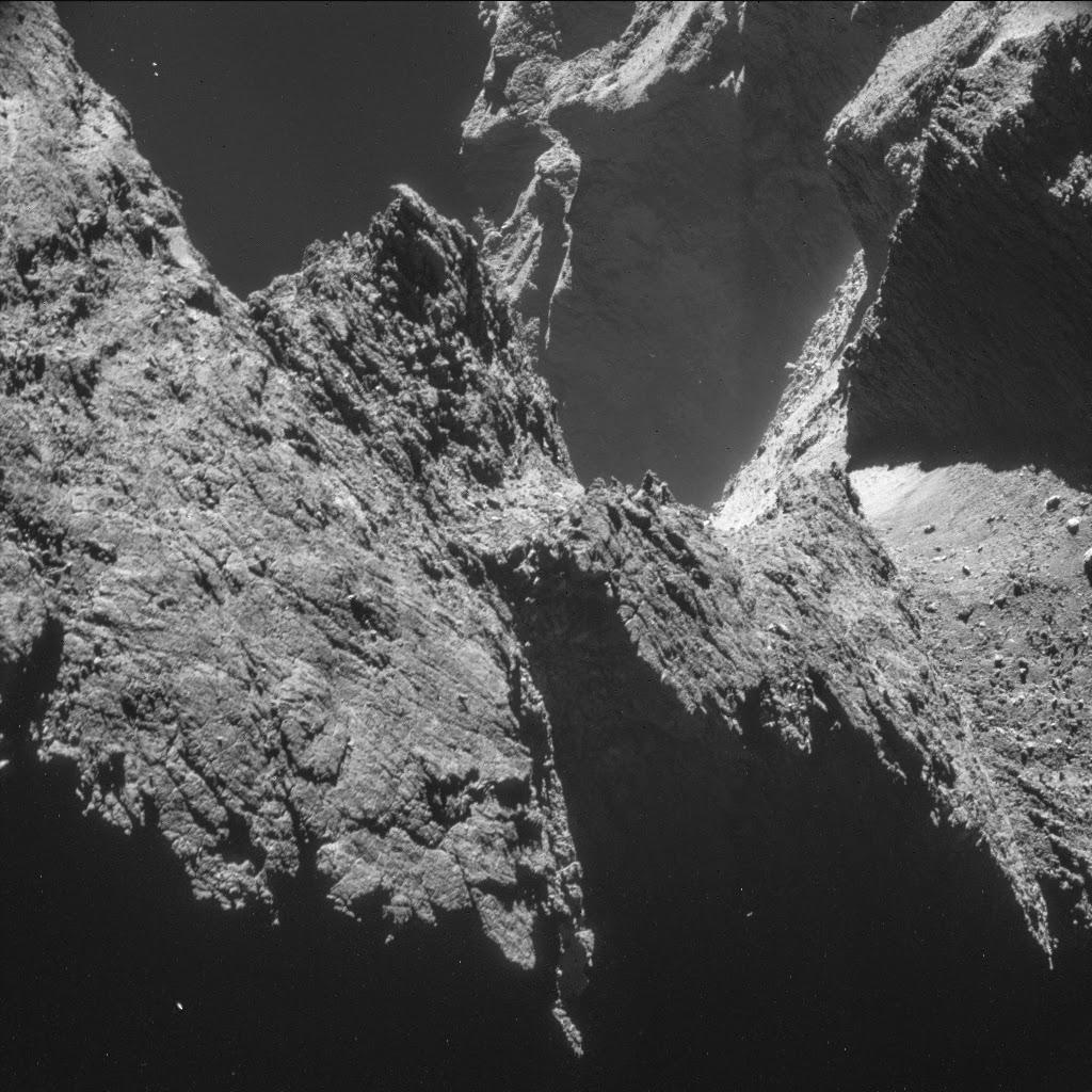 Philae's aterriza sobre el cometa 67P/Churyumov–Gerasimenko
