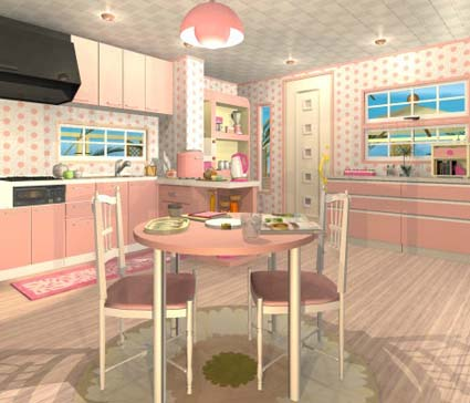 Fruit kitchens peach walkthrough