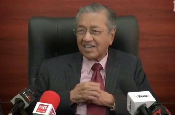 Tun Dr Mahathir Batalkan GST atau hilang undi