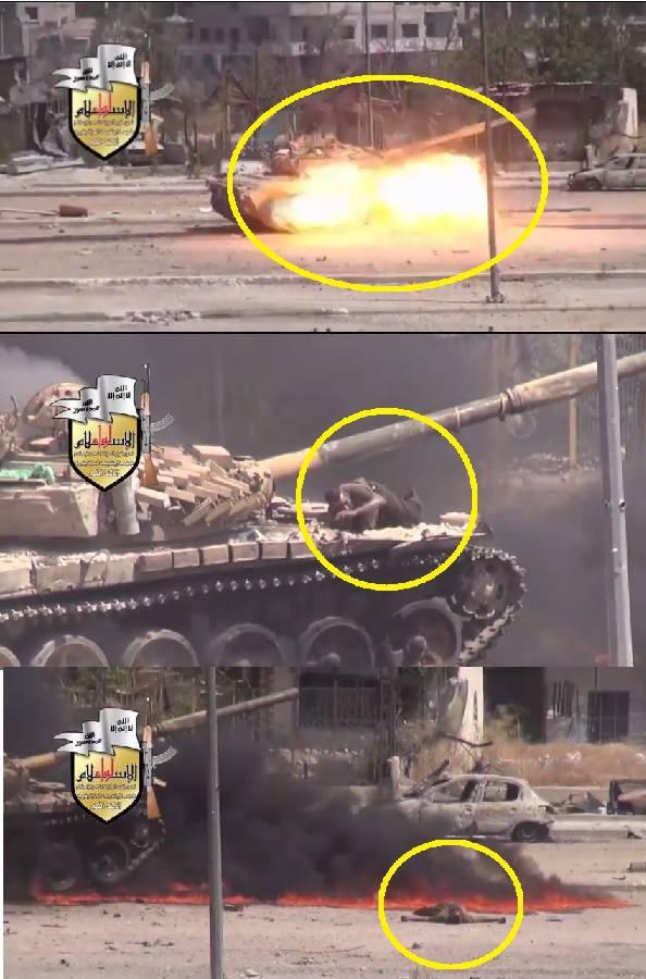 Video Kereta Kebal Syiah Dibom Dan Dibunuh