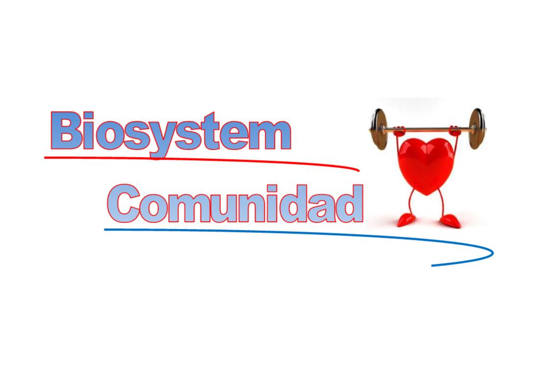 Biosystem Comunidad
