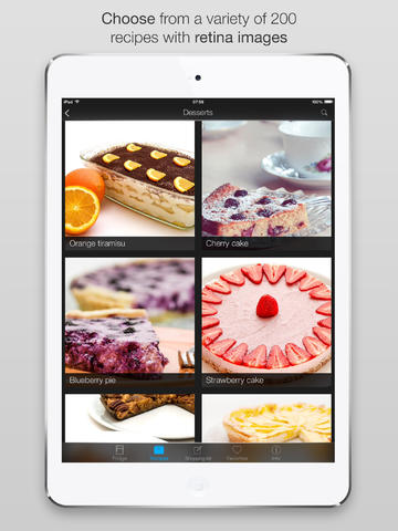 Smart kitchen desserts