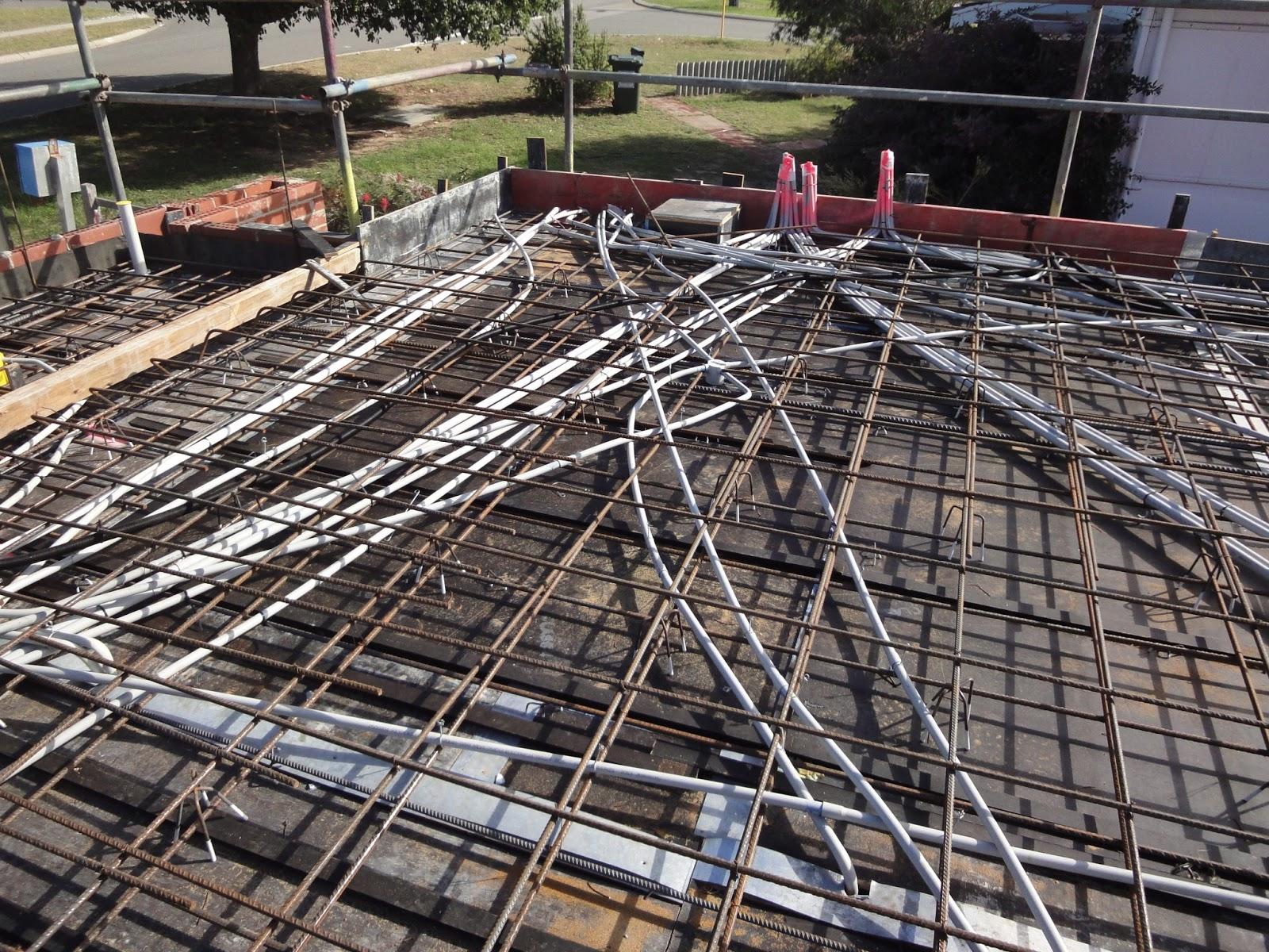 Our House Build Suspended Slab Pour