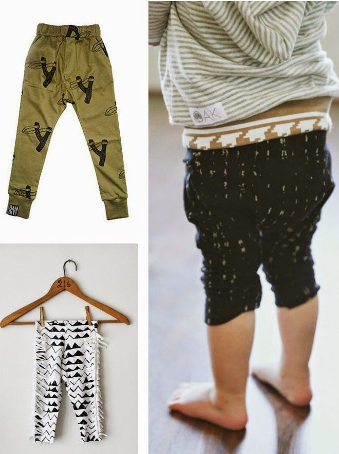 Coolest kids pants spring 2014 1: Bandit Kids 2: Thief and Bandit 3: Kindred OAK