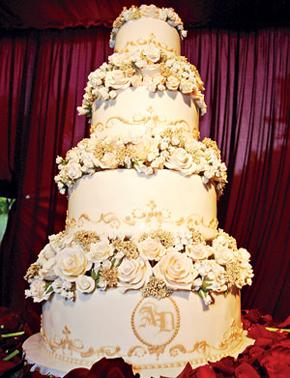 Avril Lavigne Wedding Cake