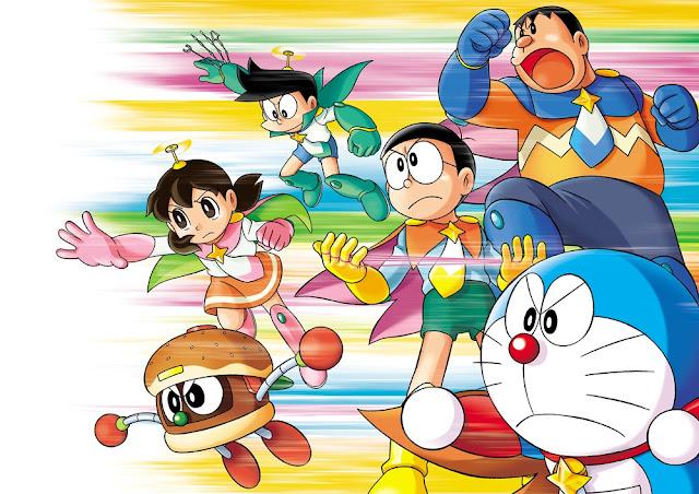 Doraemon Space Heroes burger director