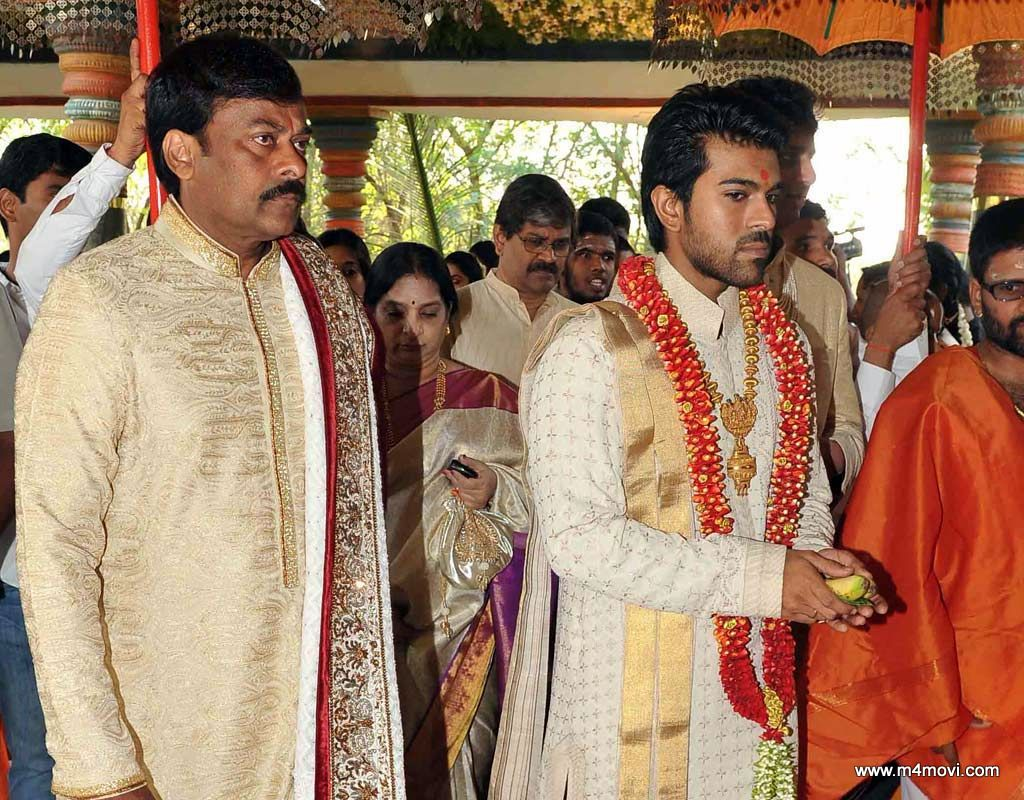 Ram Charan Marriage Photos M4movi