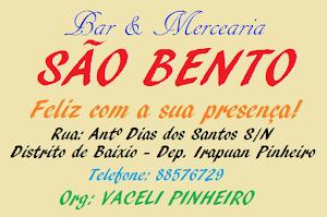 Bar e Mercearia São Bento: