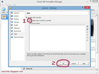 acess usb in ubuntu (guest)