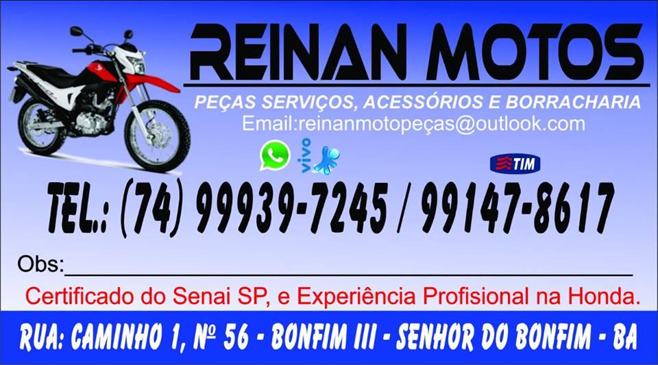 REINAN MOTOS