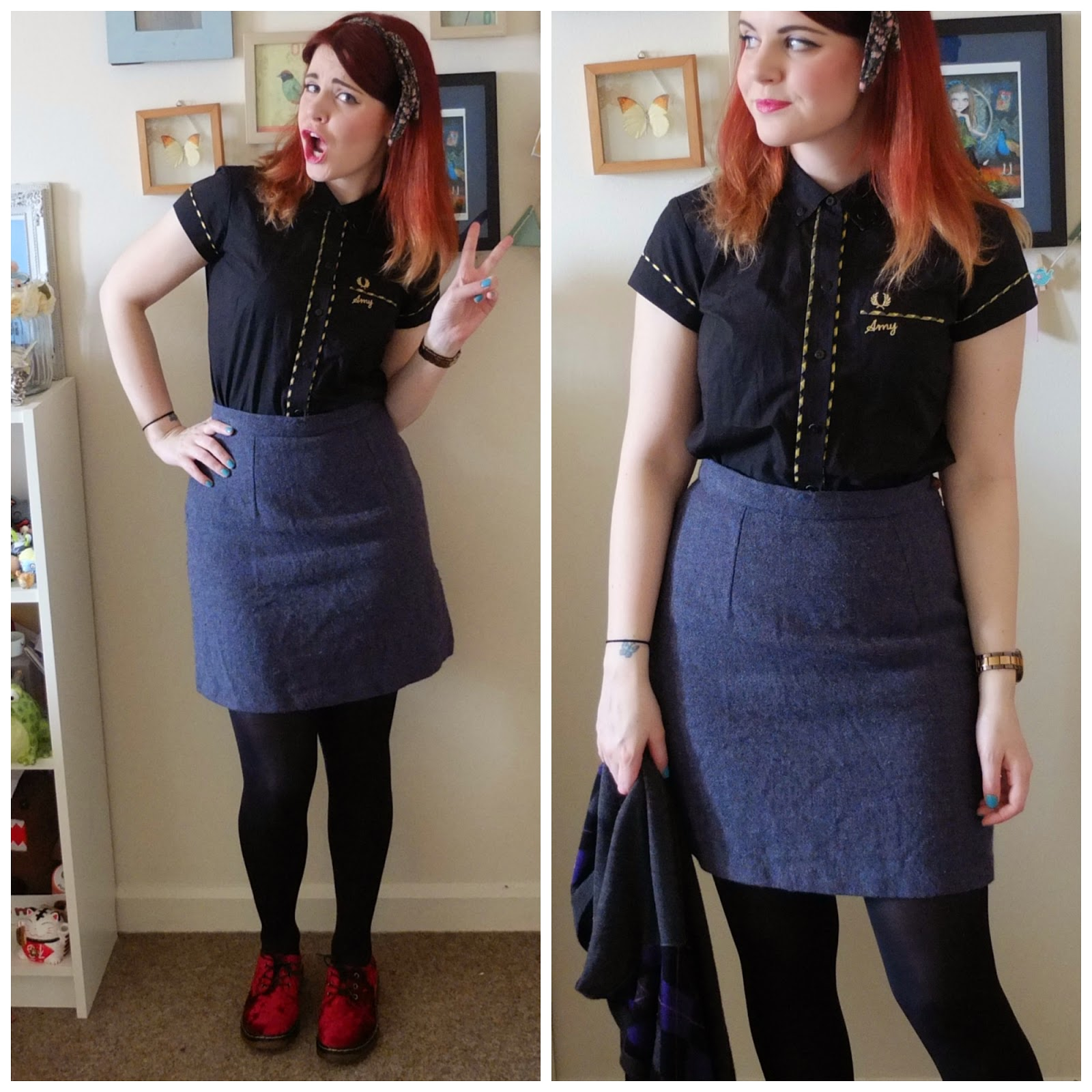 Outfit of the day featuring Fred Perry, Hidden Fashion and Monsoon on Hello Terri Lowe Blog.