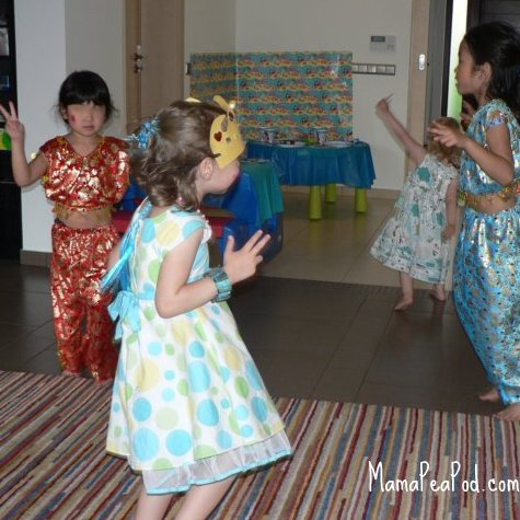 mermaid birthday party under the sea dance game