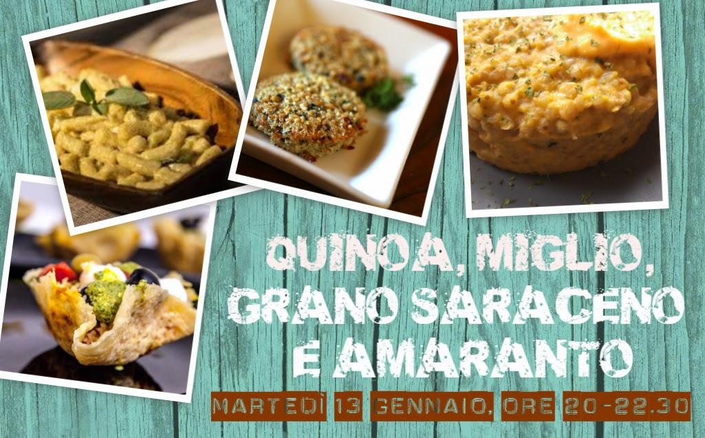 miglio quinoa amaranto