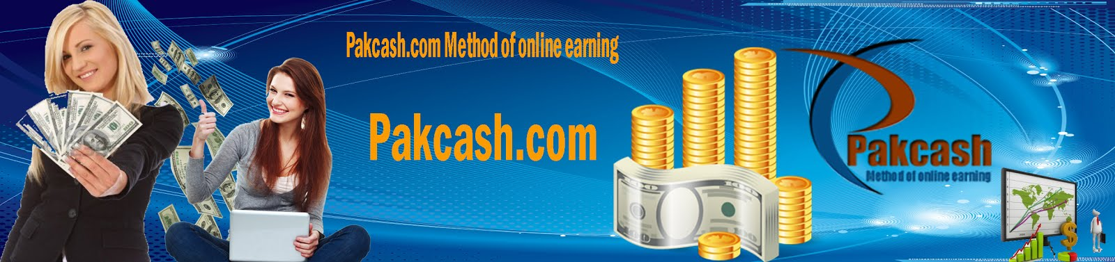 Pakcash.com Online Earning