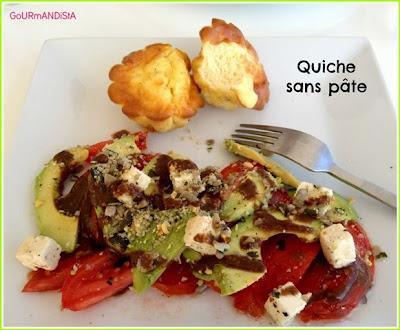 image Quiche sans pâte