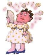Fogacho - Sintomas da menopausa