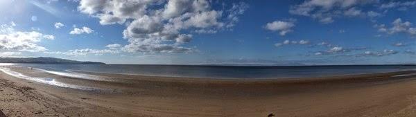 écosse Scotland Ayr plage beach