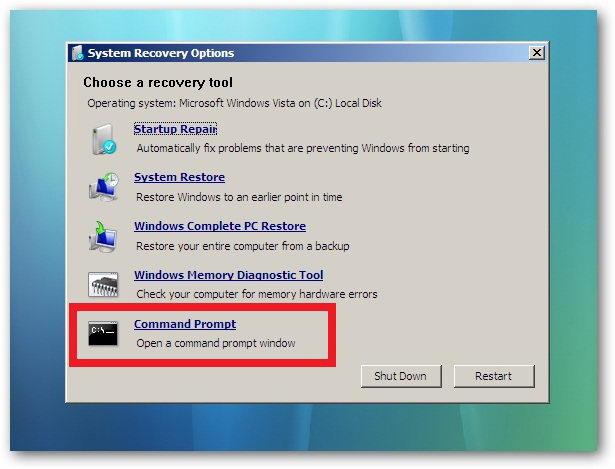 Komputer / laptop tidak bisa masuk windows c