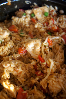 Savory Sweet and Satisfying: Spicy Chicken Fried Rice with Peanuts