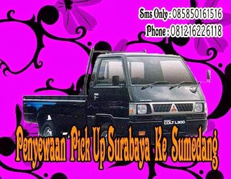 Penyewaan Pick Up Surabaya Ke Sumedang