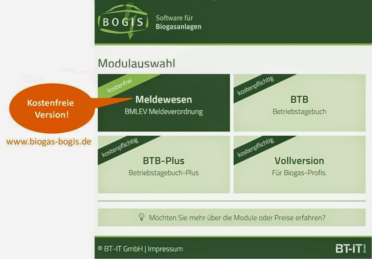 Biogas: Neues Release 3.0 im April verfügbar. BT-IT GmbH - Ralf Ebken