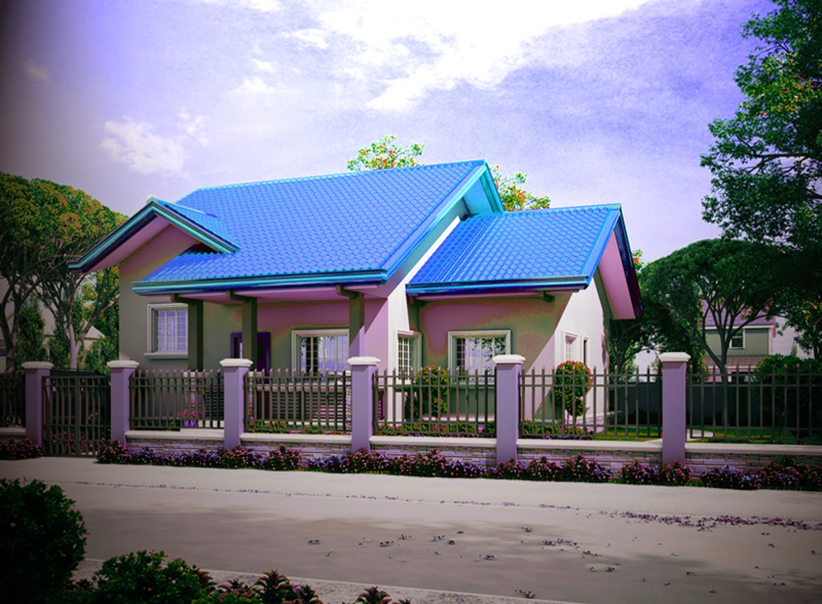model desain rumah minimalis type 45 sederhana