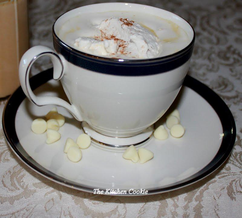 TheKitchenCookieWhite Chocolate Pumpkin Spice Latte with Vanilla