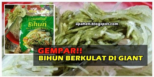 Bihun Cap Jasmine Berkulat Yang Dibeli di Giant (3 Gambar) http://apahell.blogspot.com/2015/01/bihun-cap-jasmine-berkulat-yang-dibeli.html